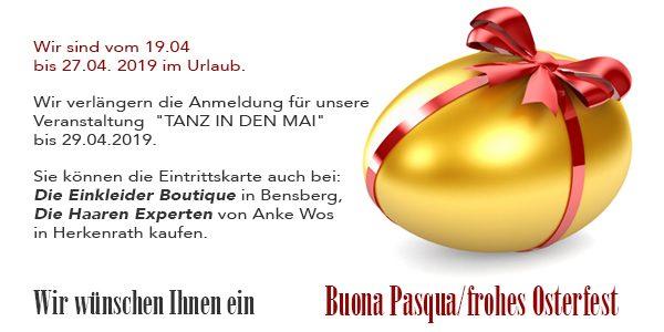 Buona Pasqua/frohes Osterfest!